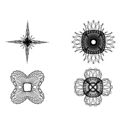 Spirograph elements2 vector image