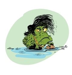 The evolution of men amphibian vector
