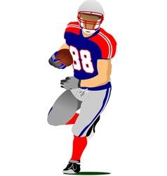 Al 0925 american football 01 vector