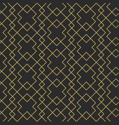 geometric elegant seamless pattern vector image