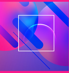 Minimal geometric background vector