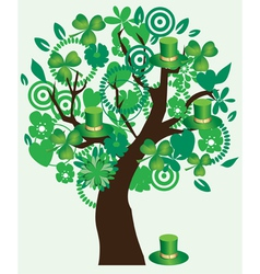 Saint Patrick tree vector