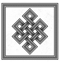 scandinavian viking design vector image