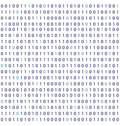 streaming binary code background vector image