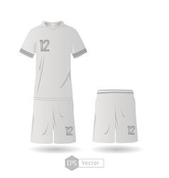 France team uniform 01 vector image