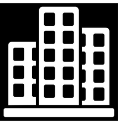 City Icon from Commerce Set vector image