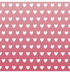 Pink Heart Seamless Pattern vector image vector image