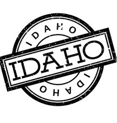 Idaho rubber stamp vector image
