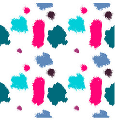 abstract paint stains picturesque background vector image