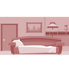 cartoon interior room vector image