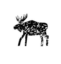 Elk texture vector