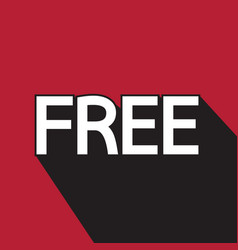 free stamp vector image