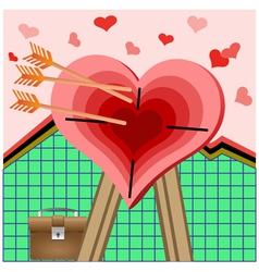 Heart-shape vector image
