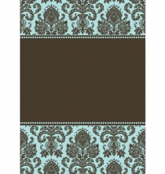pattern and frame vector image vector image
