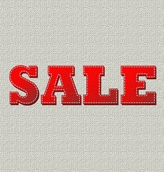 Sale canvas vector image