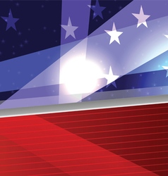 Stripes and Stars vector image