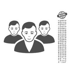 User Group Icon With Bonus vector