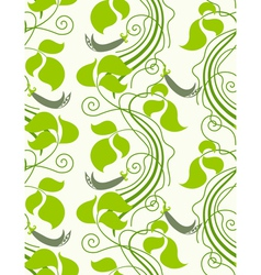 nature seamless background vector image vector image