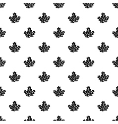 Christmas branch pattern simple style vector image