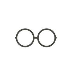 Glasses icon line eyeglasses symbol vector