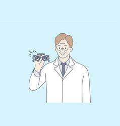 Health care medicine optics vision vector
