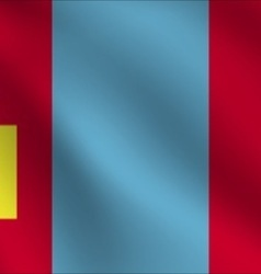 Mongolia flag vector