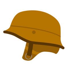 motorcycle helmet vintage vector image
