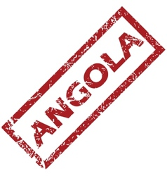 New Angola rubber stamp vector