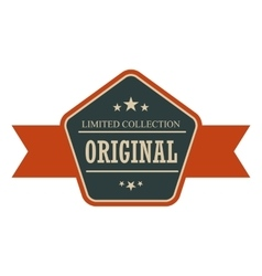 Original vintage banner vector