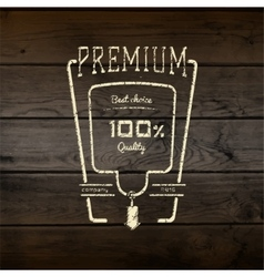 premium best choice badges logos and labels vector image