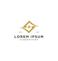 S home logo design vector