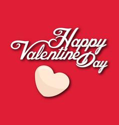 Valentine day little heart image vector