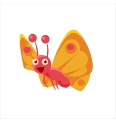 Butterfly Mid-air Icon vector image vector image
