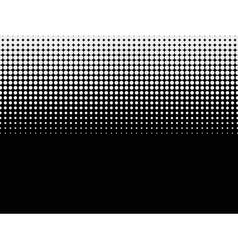Halftone background Black-white vector image vector image
