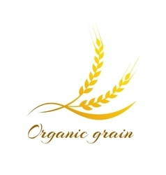 Wheat label - vector image vector image