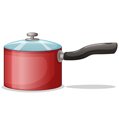 A cooking pot vector image