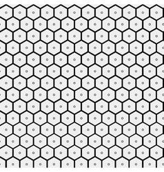 Abstract minimalistic pattern hexagon vector