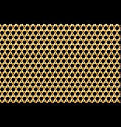 davids star background vector image