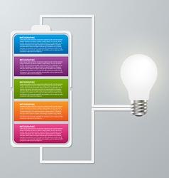Modern design creative infographic business vector