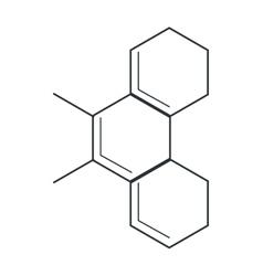 molecule representation icon vector image