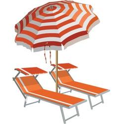 Relax on beach vector