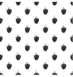 raspberry or blackberry pattern vector image