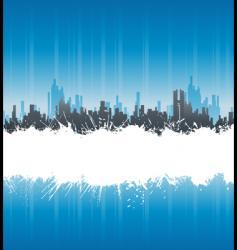 urban white splatter stripe background vector image