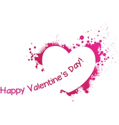 valentine day symbol vector image vector image