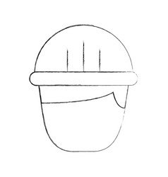 construction builder avatar character vector image