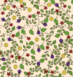 Flowers ornament vector image
