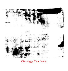 Grungy hand made texture vector