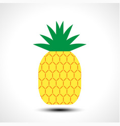 pineapple icon symbol design vector image