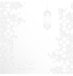 Ramadan pattern ramadan kareem background vector