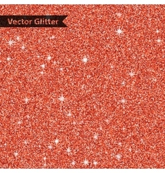 Red shiny glitter texture background with star vector image
